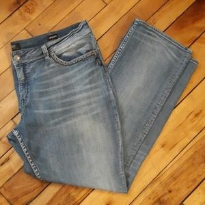Silver Jeans Suki Mid Rise Baby Bootcut
